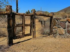 Spear S Ranch Gate - Maricopa Trail - Cave Creek by Al_HikesAZ, via Flickr