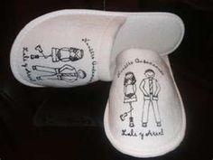 slippers wedding souvenir