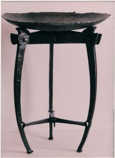 Brazier, a forged metal study