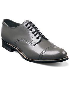Stacy Adams Shoes, Madison Cap Toe Oxfords - All Men's Shoes - Men - Macy's