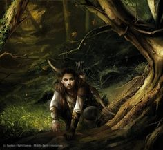 Magali Villeneuve Portfolio: The Lord of the Rings