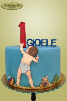 """First Birthday Discoveries by Adelina - """"Le Torte DecorArte"""""""