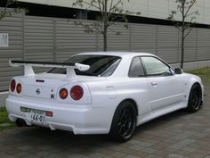 2002 Nissan Skyline R34 GTR 6 Speed (Last Model)