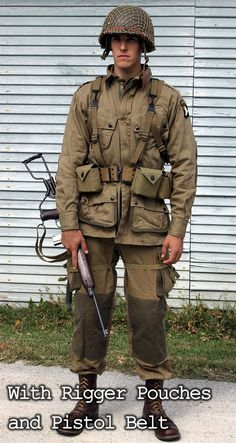 U.S. WWII Paratrooper Package $655