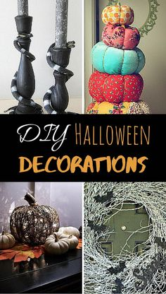 17 Halloween Decoration Ideas | A spooky craft for all your decorating needs this Halloween!
