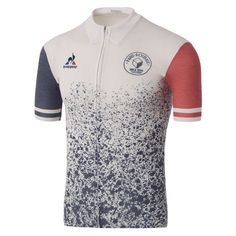 Buy Le Coq Sportif Men's Paris Roubaix Pro Short Sleeved Jersey - White here at ProBikeKit USA. We have great prices on bikes, components and clothing, as well as free delivery available! Cycling Wear, Bike Wear, Cycling Jerseys, Cycling Outfit, Women's Cycling, Paris Roubaix, Le Coq Sportif Logo, Cycling Events, Sport Wear