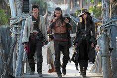 #Smiley360 #BlackSails #PiratesWanted ~Black Sails dangerous trio