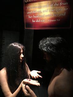 Adam & Eve Creation Museum, Genesis 3, Adam And Eve, Husband, Movie Posters, Movies, Women, Adam An Eve, Films