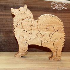 Купить Подарок к году собаки Пазлы деревянные в интернет магазине на Ярмарке Мастеров