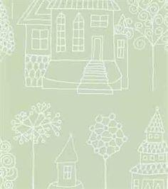 Kaspar wallpaper from Sandberg Tyg & Tapet by Charlotta Sandberg Toddler Rooms, Print Patterns, Kids Room, Lily, Wall Art, Interior Design, Home Decor, Houses, Wallpapers