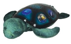 Cloud b Twilight Constellation Night Light, Sea Turtle (079488400008) Five endangered sea animal images on turtle shell that illuminate one at a time Shell glows in three soothing colors options ocean blue, emerald green and aquamarine