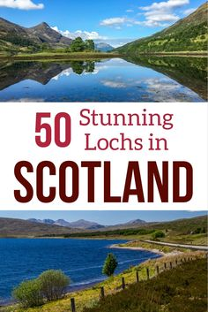 Discover some of the most beautiful lochs in Scotland with photos and a short video. Deep blue waters, mountains, reflections... The best Scotland has to offer including the famous Loch Ness, which, by the way, is far from being the most beautiful  --- Scotland Travel - Scotland Landscapes - Scotland Highlands - Scotland Photography - Scotland things to do