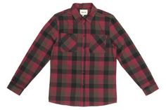 Emerica `Hsu Obrero` Long Sleeved Shirt (Maroon)
