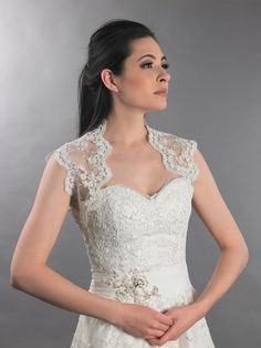 lace bolero for wedding dress - wedding dresses for plus size Check more at http://svesty.com/lace-bolero-for-wedding-dress-wedding-dresses-for-plus-size/
