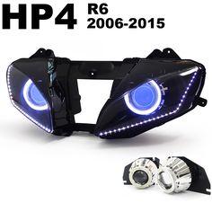 HID Projector HP4-R606 for Yamaha R6 2006-2014 http://www.ktmotorcycle.com/hid-projectors/hid-projector-hp4-r606-for-yamaha-r6-2006-2015.html