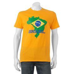 """Men's """"Brazil"""" Tee, Size:"""
