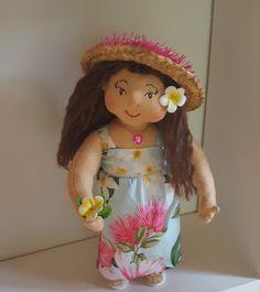 Magical Hawaiian Menehune Dolls: Lehua, Flower Sacred to the Gods