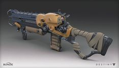 A model that I had the pleasure to work on for Destiny.  This was a collaboration with Rajeev Nattam, who did the orginal combatant model.