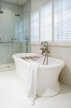 Contemporary wall mounted Perrin & Rowe basin set in Private ...