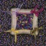 Periwinkle Pincushion - The Heart's Content