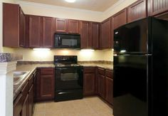 THIS IS WHAT I'M AFRAID OF IF I GO WITH A BROWN CABINET - Brown Painted Kitchen Cabinets | Paint kitchen cabinets brown inspiring