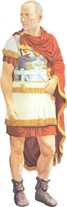 A provincial legate of the 1st-2nd century AD based on imperial sculptures. By Peter Connolly (Roman Military Costume/Greece And Rome At War/user: Aethon)