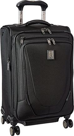 Travelpro Crew 11 21 Expandable Spinner Carry On Luggage Black >>> You can find more details by visiting the image link.