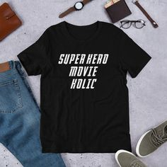 16059c57c Super hero movie holic super hero unisex t-shirt size s-3xl Disney Rides