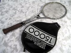 Sold!! Thanks. Vintage WILSON T5000 Jimmy Connors Steel Tennis Racket. Made in USA.