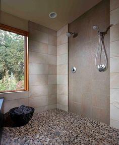 Affordable Stone Tiles Designs For Bathroom Shower 31