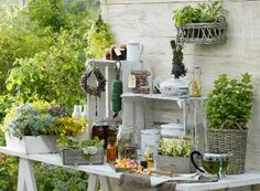 April in love The Great Outdoors, Table Settings, Relax, Patio, Table Decorations, Cool Stuff, House, Furniture, Design