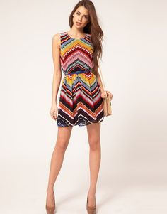 colorful, short, band sleeves