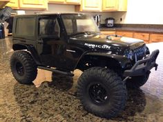 Axial SCX10 with Proline Jeep Rubicon 2 door JK.