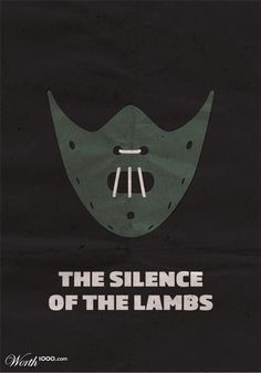 The Silence of the LambsMinimalist Movie posters from