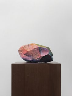 Katharina Grosse, 'Rock,' 2005, Ludorff Modern Art, Contemporary Art, Decorative Bowls, Rock, Artsy Net, Artwork, Inspiration, Color, Aesthetics