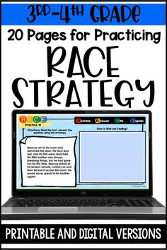 Races Writing Strategy, Race Writing, Writing Strategies, Teaching Strategies, Learning Resources, English Writing Skills, Writing Lessons, Teacher Education, Student Teaching