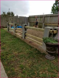 Cinder block ideas outside projects ограждения в саду, Backyard Fences, Backyard Landscaping, Patio Fence, Cinderblock Fence, Cinder Block Furniture, Cinder Blocks, Cinder Block Ideas, Cinder Block Garden, Garden Blocks