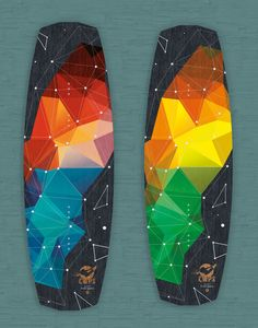 CWPS Wakeboards Designs by Ota Livers, via Behance