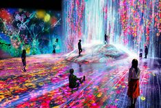 Borderless world emerges in Odaiba! - Mori Building and teamLab collaborate to launch the Mori Building Digital Art Museum