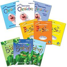 Real Science 4 Kids Level 1 Set-chemistry, physics and biology.  We have the physics set.