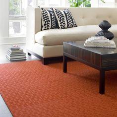 FLOR carpet tiles in ALL SQUARE-orange