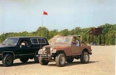 Iron Horse 4x4s Inc. Club Run Badlands  Attica Indiana
