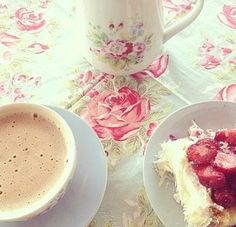 Find images and videos about girl, pink and food on We Heart It - the app to get lost in what you love. Girls Image, Tea Cups, Pudding, Drinks, Tableware, Food, Roses, Happiness, Girly