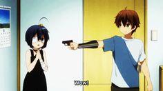 Yuuta and Rikka