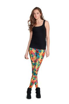 c8df815cf69b1 Rainbow Rose Leggings by Zara Terez they r roses but look like lollipops  still so cute