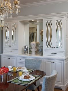 China Cabinet Patterns | Kitchen built-in China cabinet | Flickr ...