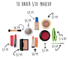 10 products under $10 - Budget Beauty Buys