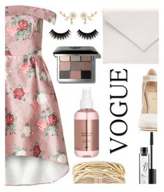 """""""Rose"""" by fashionablefangirl ❤ liked on Polyvore featuring Alexander White, Verali, Rosantica, MAC Cosmetics and Bobbi Brown Cosmetics"""