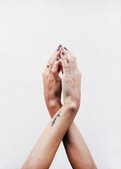 Wrists.