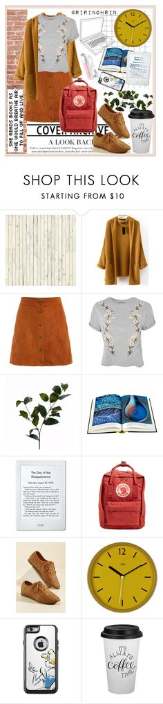 """library chic"" by rindularas on Polyvore featuring NLXL, WALL, Topshop, Wyld Home, Amazon, Fjällräven, Wild & Wolf and libraryoutfit"